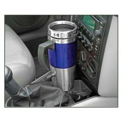 North Point HW4274 Blue Heated Stainless Steel Travel Mug with USB - 12 Volt