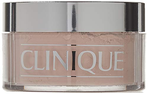 Clinique Blended Face Powder plus Brush, No. 02 Transparency, 1.2 Ounce