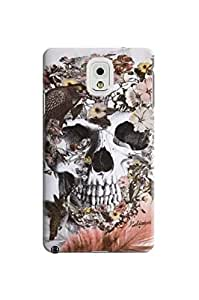 LarryToliver Customizable Awesome Beautiful Skull Arts Background image samsung note 3 Case / Cover Your Phone #2