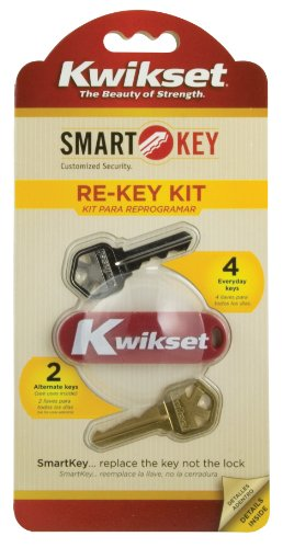 - Kwikset 83262-001 SmartKey Re-keying Kit