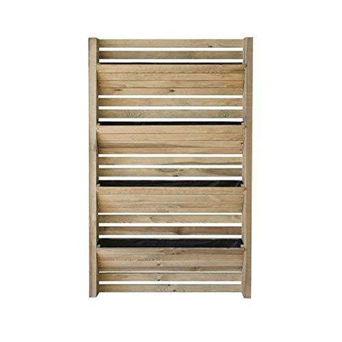 Huerto de madera vertical con 4 bandejas – Mu vegetal Eden 90 x ...