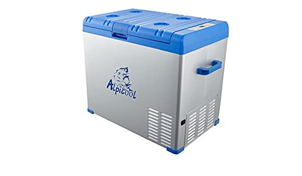Alpicool DC 12 V 24 V AC110 V Compresor portátil coche para ...
