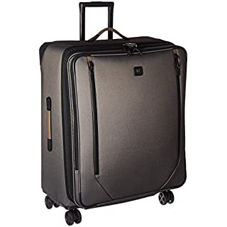 "Victorinox Lexicon 2.0 Softside Expandable Spinner Luggage, Gray, Checked-Large (28"")"