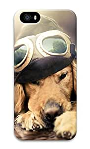 iPhone 5 Case, Personalized Custom Hard 3D Dog Durable Case Cover for iPhone 5 5S