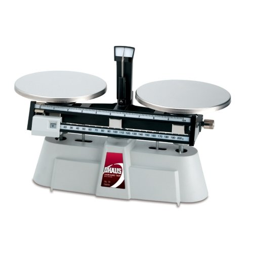 - Ohaus 1550-SD Harvard Triple Balance, 2000g x 0.1g, Two Beam, Stainless Steel Plates