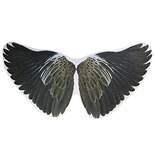 Kids Bird Dress Up Wings Costume Accessory-Boys Girls Pretend Play Games (#2 Eagle) (Bird Masks Children)