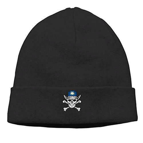 QPSV Hip-Hop Cap Skull-Kentucky Skull Flag Unisex Cute Beanie Knit Caps. (57 Days Until Halloween)