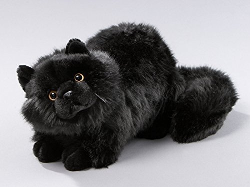 Amazon.com: Cat Black 12 inches, 30cm, Plush Toy, Soft Toy, Stuffed Animal 1654003: Toys & Games