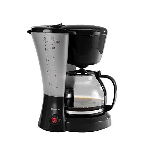 Domoclip Cafetera eléctrica Negra 12 Tazas: Amazon.es: Hogar