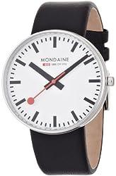 Mondaine Men's Swiss Railways Giant Watch A6603032811SBB