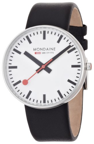 Mondaine Men's A660.30328.11SBB Giant Size Leather Band