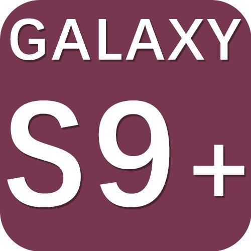 Galaxy S9 Plus Case, Glitter Girls Girly Purple Phone Cover