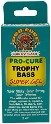 Pro-Cure Bait Scents Trophy Bass Gel