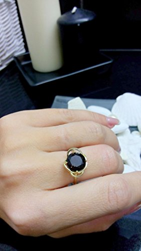 Smoky quartz ring,delicate ring,gold ring,prong round ring,gemstone ring,cocktail brown ring,small ring,gold plated ring