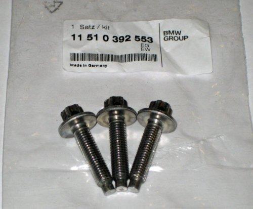 - BMW (11 51 0 392 553) Water Pump Screw Set, Aluminum