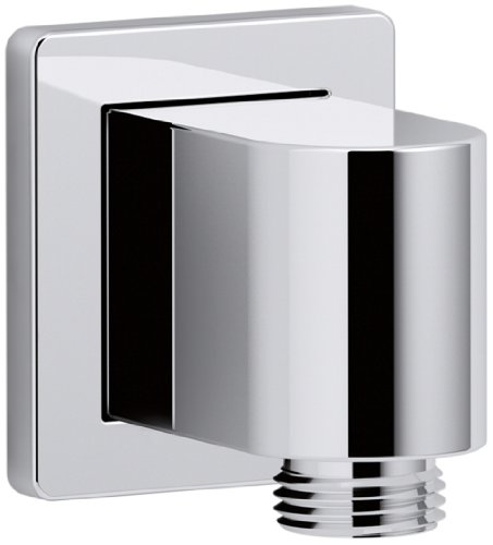 (KOHLER K-98350-CP Awaken Wall-Mount Supply Elbow, Polished Chrome)