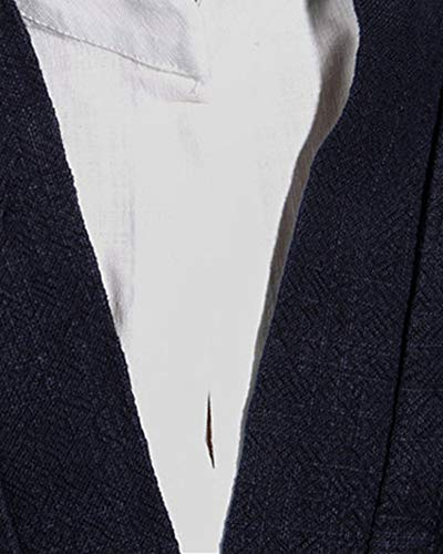Tang Tops Mezcla Camisas De Hombre Abrigos Retro Traje Lino Kungfu Estilo Tradicional Armada Chino Chaqueta tSFaqxt