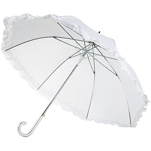 totes Women's Auto Open Ruffle Stick Umbrella by totes (Image #2)