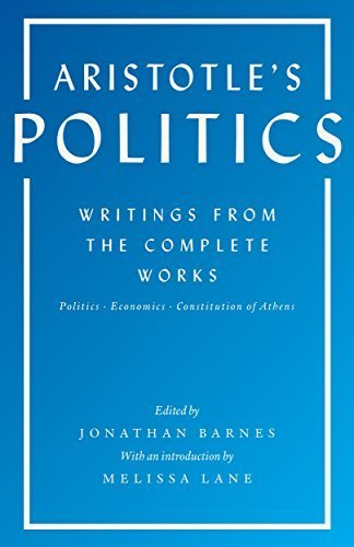 Download PDF Aristotle's Politics - Writings from the Complete Works