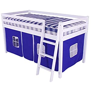 HLS blue Tent for Midsleeper Cabin Bunk Bed