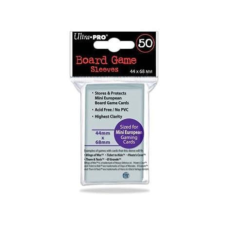 Ultra Pro Fundas para Cartas Color Transparente Miscelanea 330491