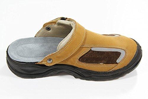 Dimi Routier , Chaussures de sécurité pour homme Beige Beige