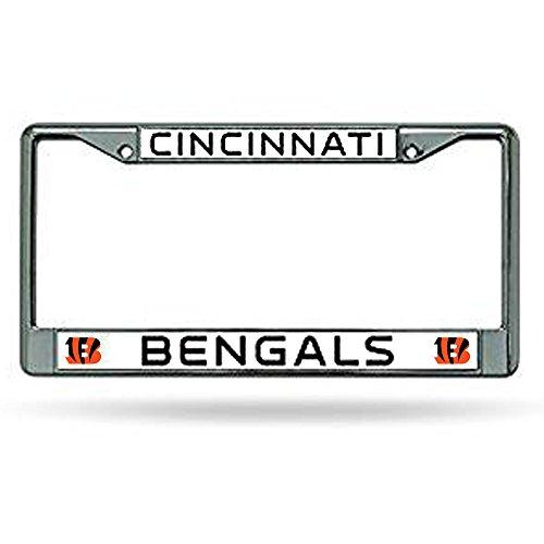 Cincinnati Bengals Chrome License Plate Frame