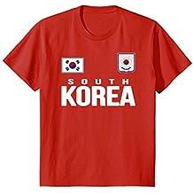 South Korea T-shirt Soccer Jersey Style .