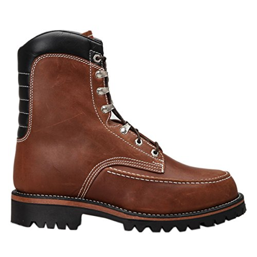 Chippewa Mens 1969 Original Kush N Kollar Chocolate Leather Boots 11 US