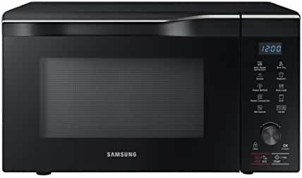 Samsung MC11K7035CG 1.1 cu. ft. Countertop Power Convection Microwave Oven with Sensor and Ceramic Enamel Interior, Black Stainless Steel