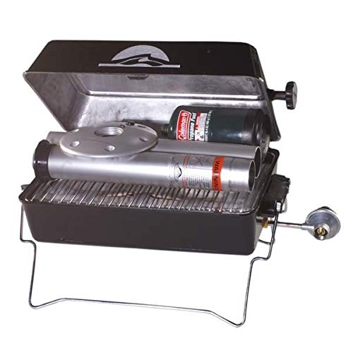 AMRS-1940052 * Springfield Deluxe Gas Grill with Post by Springfield Marine