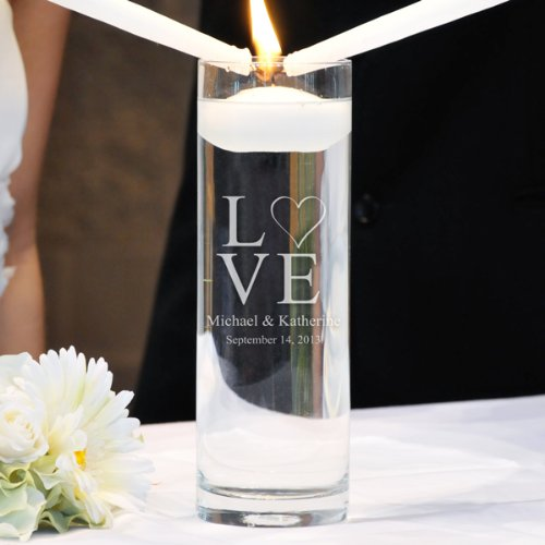 Cathy's Concepts Modern Love Floating Unity Candle