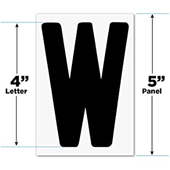 Amazoncom 4quot on 5 inch rigid marquee letters 300 for Changeable letter sign panels