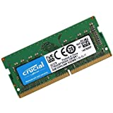 Crucial CT8G4SFS824A Memoria da 8 GB, DDR4, 2400 MT/s, PC4-19200, Single Rank x8, SODIMM, 260-Pin