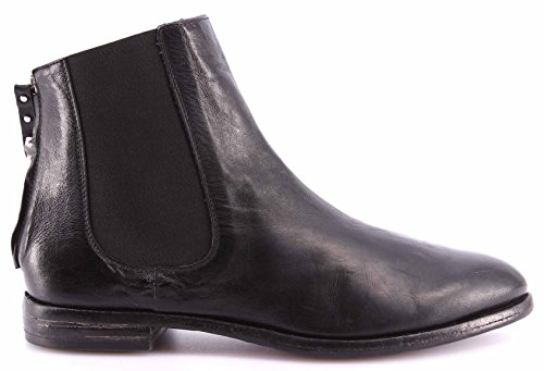 Zapatos Mujer Botines MOMA Ankle Boots 98505-5A Sting Nero Negro Vintage ITA New