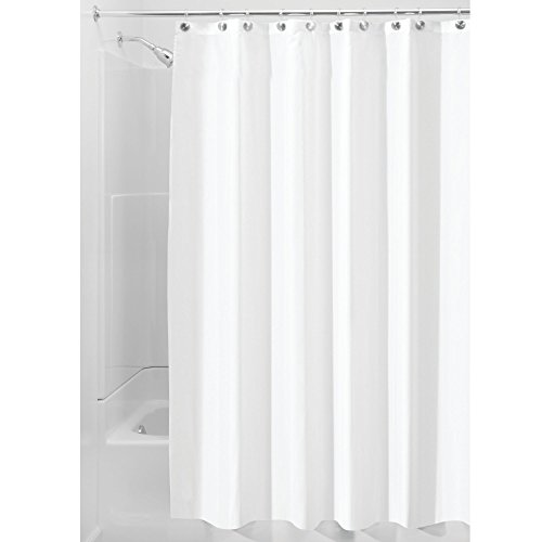 extra long polyester fabric shower