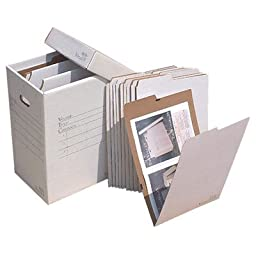 Vertical Flat File System Filing Box Size: 20\