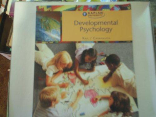 Developmental Psychology Kail/Cavanaugh