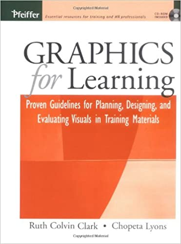 Graphics For Learning Proven Guidelines For Planning Designing And Evaluating Visuals In Training Materials 9780787969943 Human Resources Books Amazon Com