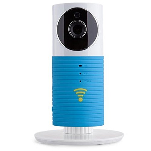 Mini Infrared Smart Baby Monitor Wireless WiFi IP Camera with Two-way Audio Motion Detection Night Vision for Iphone Android Smartphone Ipad (Blue) -  Cleverdog