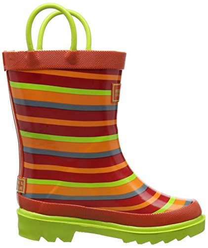 Regatta Unisex-Kinder Minnow Jnr Welly Trekking-& Wanderstiefel Orange (Trlblz/limez)