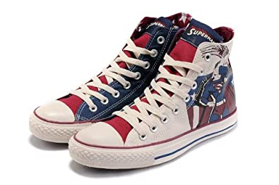 converse shoes logo. converse shoes shoes sneakers all star superheros marvel comics superman logo uk 7: amazon.co.uk: \u0026 bags logo