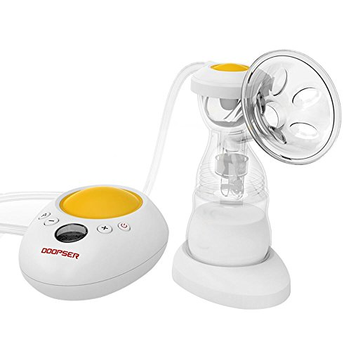 DOOPSER Electric Multifunctional Breast Pump Supports Night Light Comfortable with Humanized Design(Single Version)