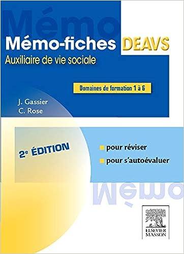 Amazon Fr Memo Fiches Deavs Jacqueline Gassier Celine