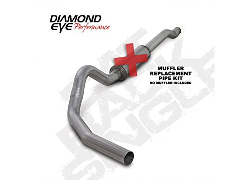Diamond Eye K4338A-RP Cat Back Exhaust Kit (Diamond Eye 4' Exhaust)