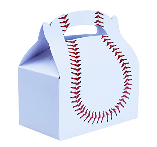 Baseball Treat Boxes Bundle Includes (12 Pack) Plus Non-Negotiable Million Dollar Bill by Imprints Plus