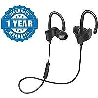 QC10 Wireless Bluetooth Headphones, Headset with Mic & Volume Button Earphone for Mi Note 5 Pro, TS Mi Note 5 Pro, Redmi 6 Pro, Redmi 6A, Redmi Y2, Mi A2, Redmi 5, Redmi 4, Mi A1, Y2, Y3 Mi Note 7 Pro