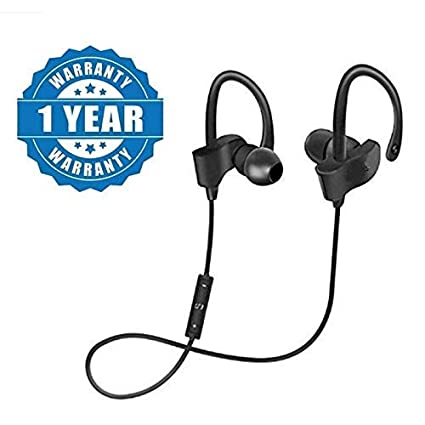 9a766b04480 BLUEGILL® QC-10 Bluetooth Earphone Wireless Headphones for Mobile Phone  Sports Stereo Jogger,
