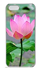 Lotus 1 Customized Popular DIY Hard Back Case Cover For iPhone 5 5S Hard Transparent