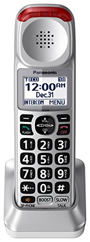 PANASONIC Cordless Phone Handset with Volume Booster (KX-TGMA45S) for use with KX-TGM450S (Silver)